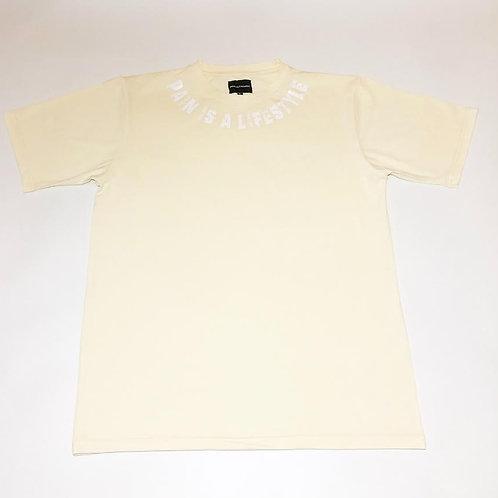 P.A.I.N shirt ( Creamy White)