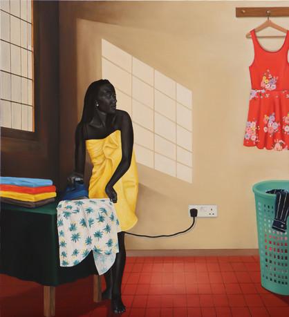 Lady Ironing, 2019