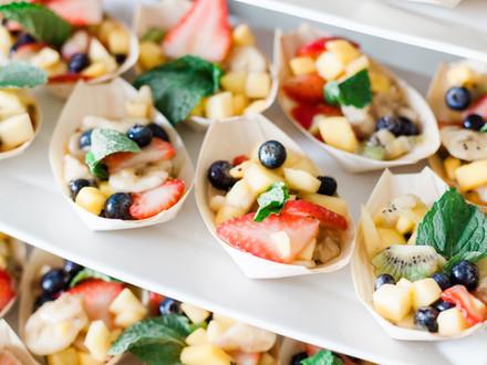 Fresh Fruit Boats