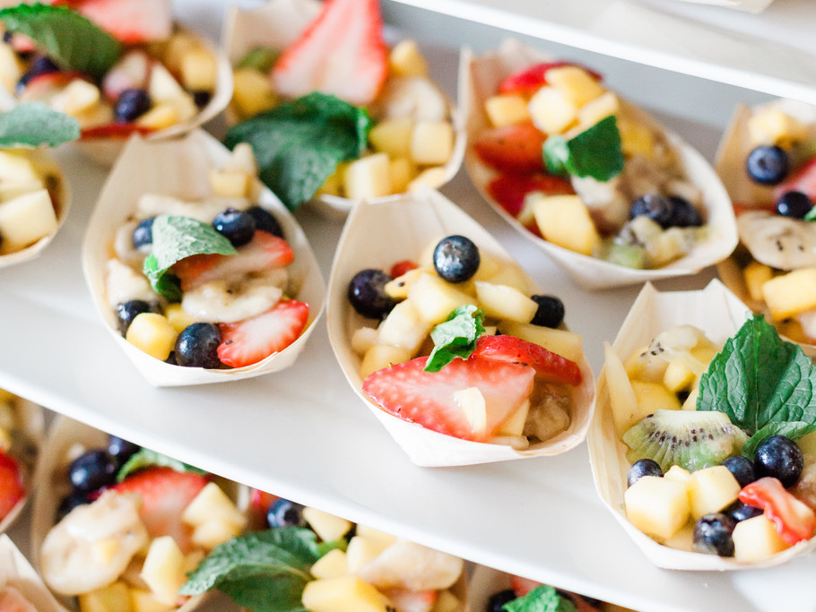 Fresh Fruit Boats