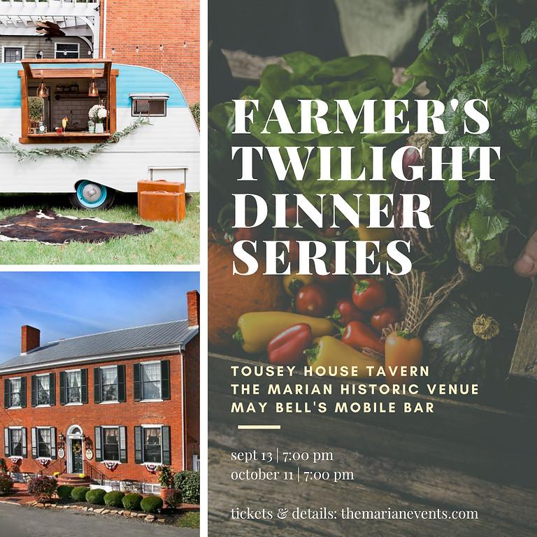 OCTOBER: Farmer's Twilight Dinner Series