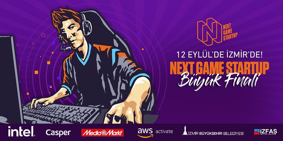Next Game Startup - Oyun Girişimciliği Yarışması Büyük Finali 12 Eylül'de İzmir'de!