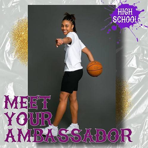 Sydney Shaw - High School Ambassador