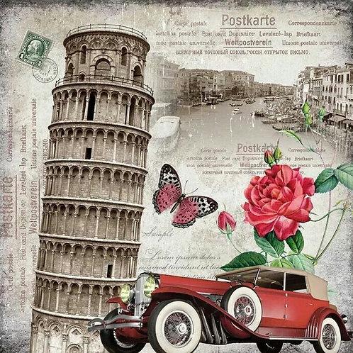 TORRE DE PISA  AUTO A4 cod S025