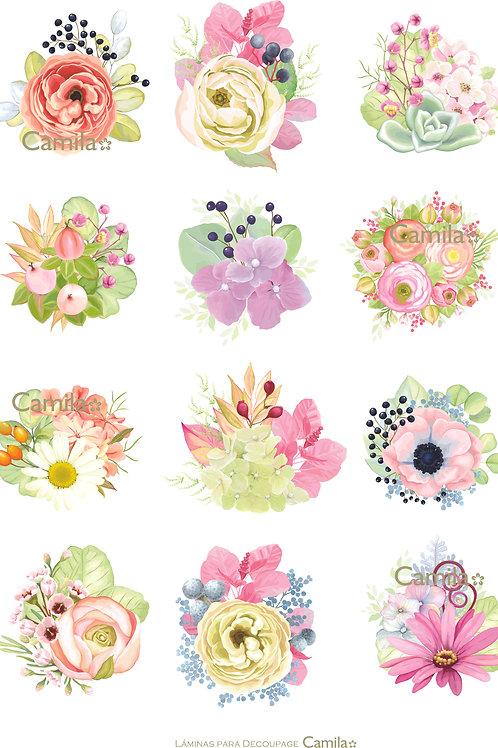 Bouquet Flores A4 D250