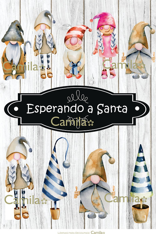 ESPERANDO A SANTA A4 NAV2026