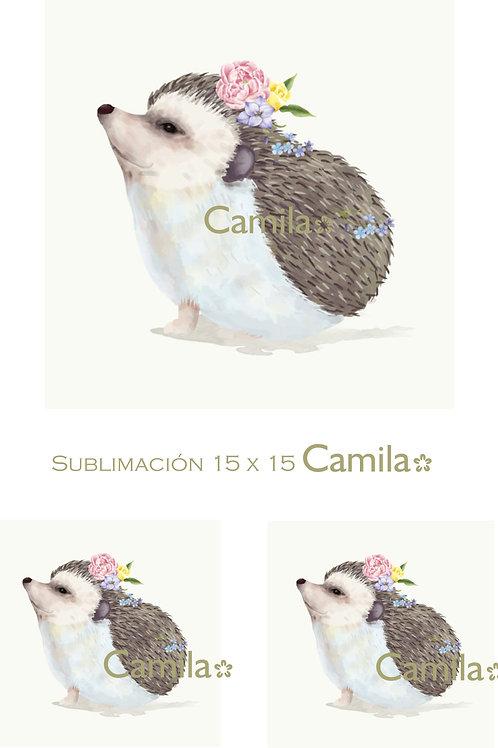 Cuerpoespin flor SU130