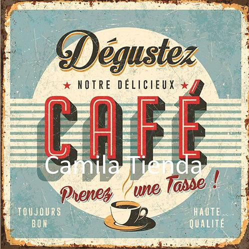 CAFE DEGUSTEZ A4 cod S216