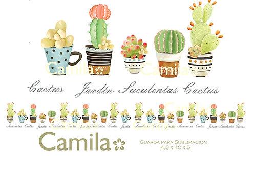 Suculentas y Cactus GS021
