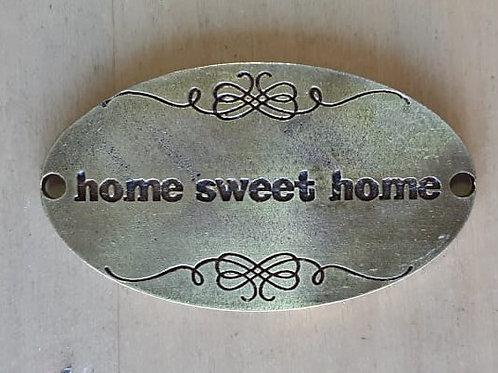 Chapa Home Sweet Home oval