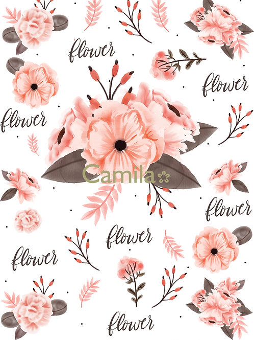 FLOWERS A3 cod S3034