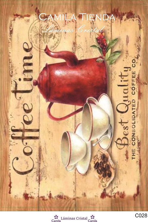 COFFEE TIME A4 C028