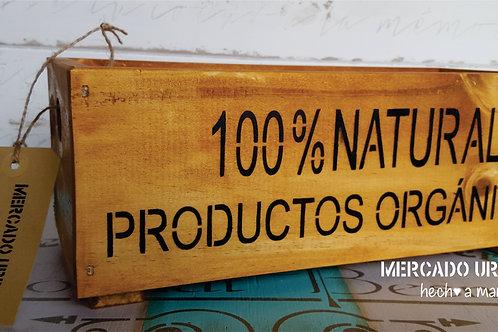 CAJÓN 100% Natural Madera
