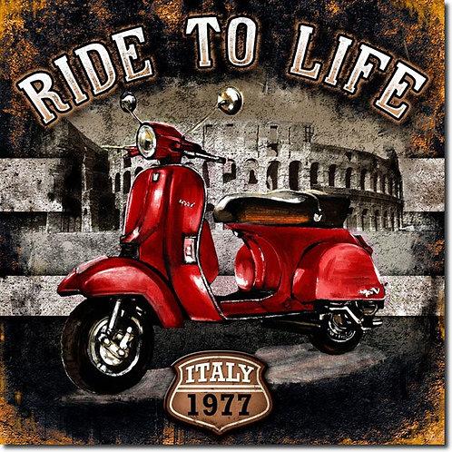 RIDE TO LIFE 15 X 15 SU038