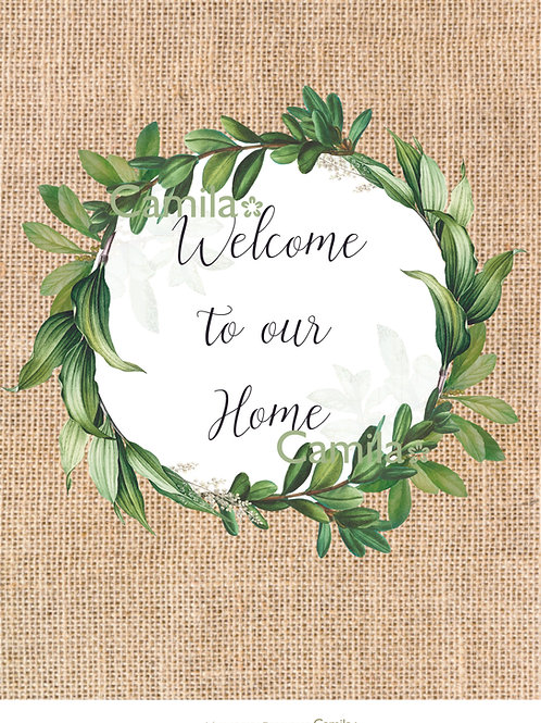 Welcome to our Home A4 D239