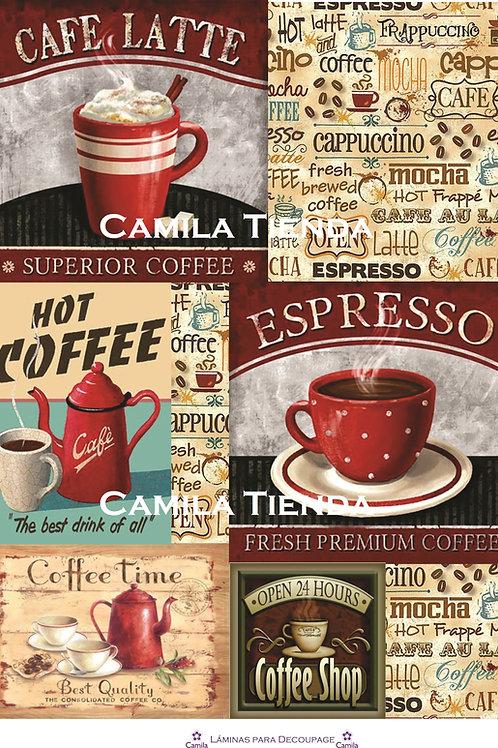 COFFEE SHOP A4 cod D139