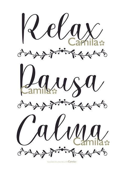 Relax / Pausa / Calma S3069