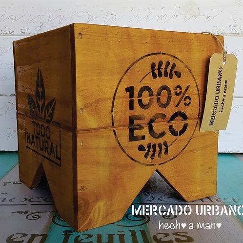 MACETERO 100% Eco Madera