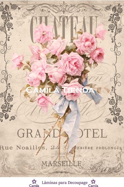 GRAND HOTELA4 cod D134