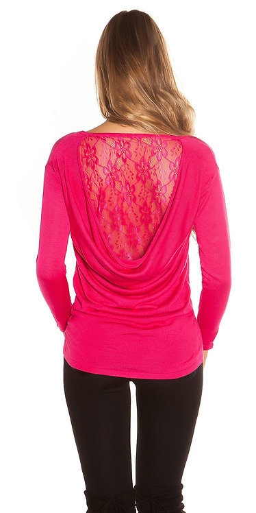 Trendy Koucla pullover with lace