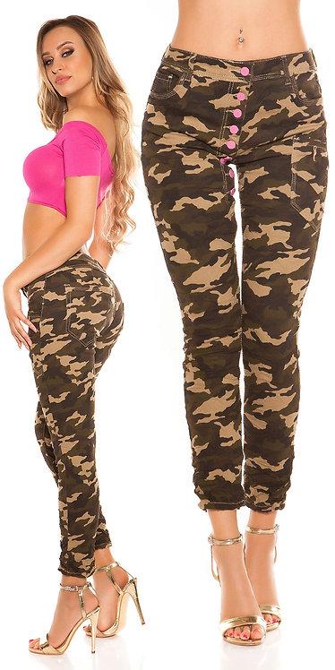 Trendy Koucla army skinnies with low crotch