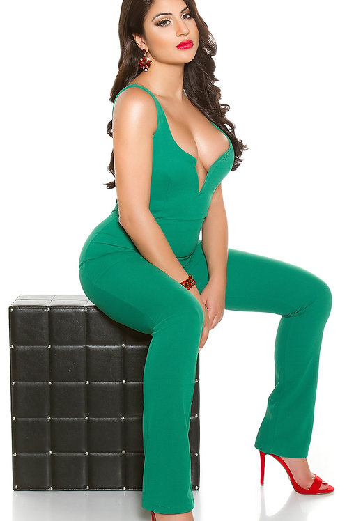 Sexy V-cut party jumpsuit