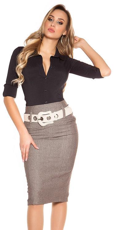 Sexy pencilskirt with belt