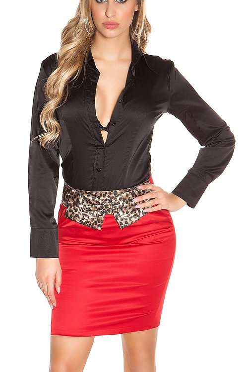 Sexy Business miniskirt with leoloop