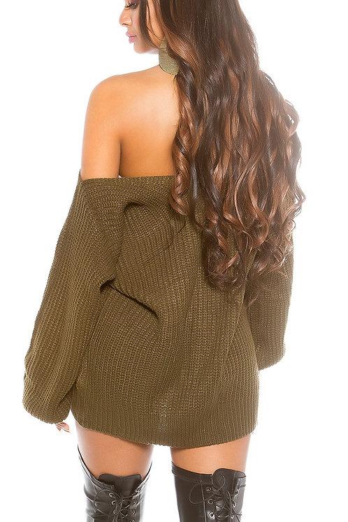 Sexy KouCla Oversize XL V-Cut knit jumper