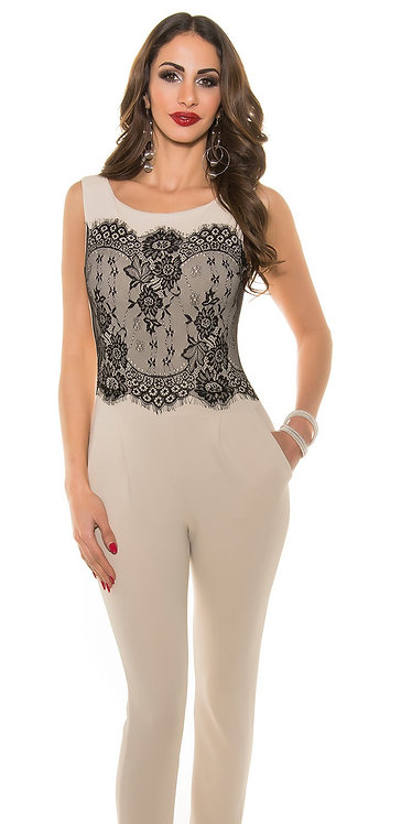 Sexy Koucla overall with lace