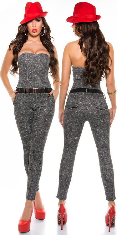 Sexy Business-jumpsuit with belt