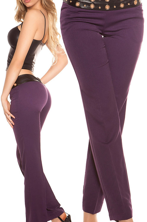 Sexy business pants with studs