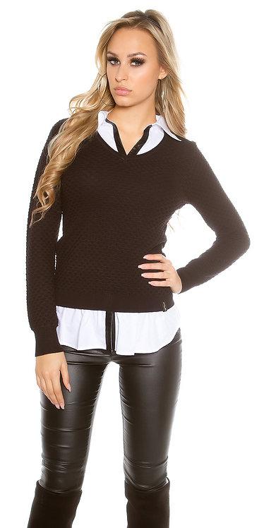 Trendy KouCla 2in1 shirt & jumper