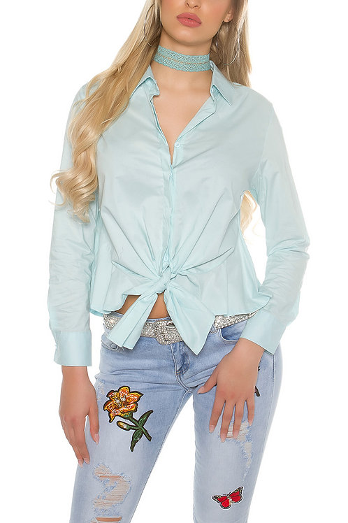 Sexy blouse for binding it`s up 2U