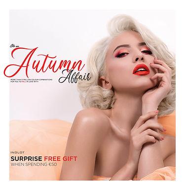 New INGLOT Campaign: It's An Autumn Affair