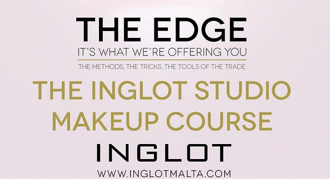 INGLOT LAUNCH PERSONAL MAKE- UP COURSES