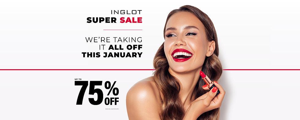 INGLOT January Sales 2021 _ Web Slide.jp