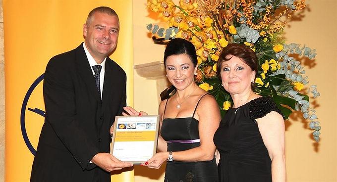 ROCS TRAVEL AWARDED THE LUFTHANSA TRAVEL AGENTS' AWARD 2014