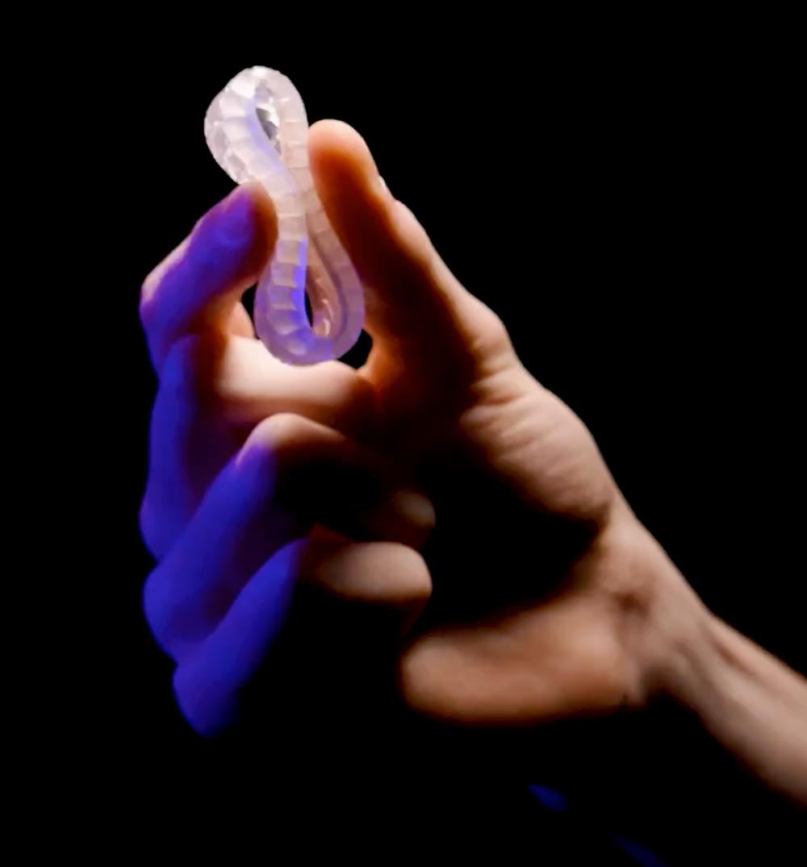 Silicone 3D printin