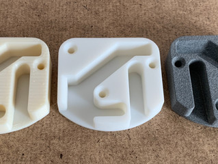 Three 3D Printing Processes Compared - FDM, SLA and MJF