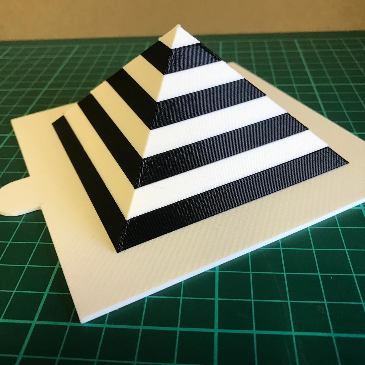 3D Printed Pyramid Stimuli