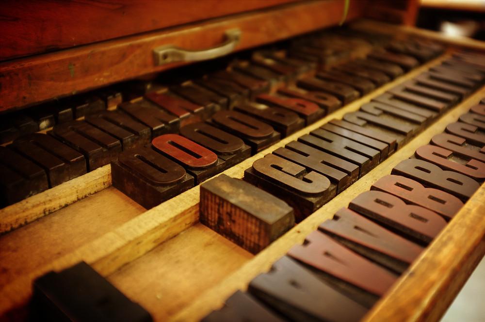 3D Printed Letterpress Printing
