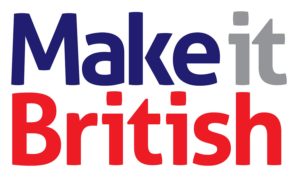 Print My Part. UK Company. Make It British Member Logo