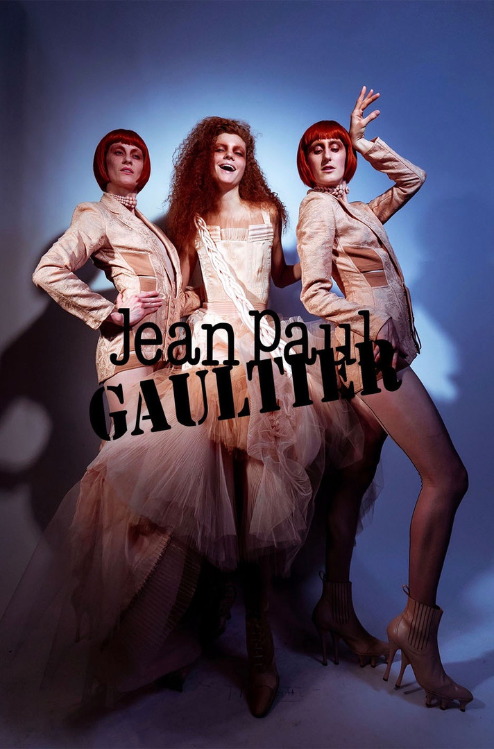 JEAN PAUL GAULTIER- FINAL HAUTE COUTURE SHOW THEATRE DU CHATELET PARIS ​ MODEL TWINS  J'ADORE LA VIE