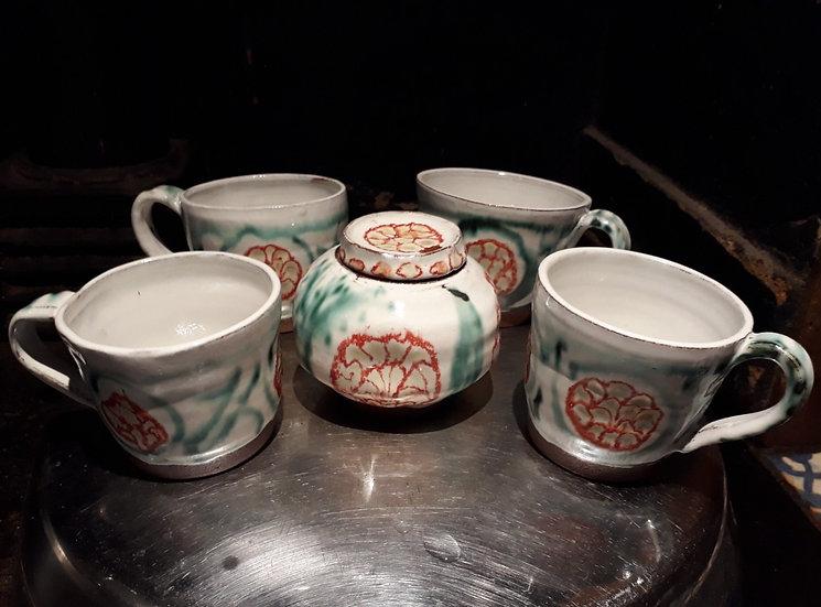 Pomegranate mugs