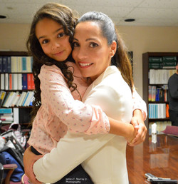 HURT Short Film with her niece Penelope Photo by James Murray