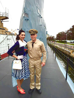 Silent ServiceShort Film with actor Steve Komito on the USS Becuna Phila.