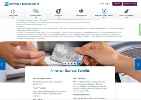 Ameerican Express Serve