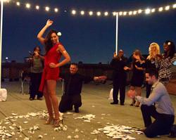 HURT Indie Short Film- Epic Greek inspired party scene Photo by James Murray