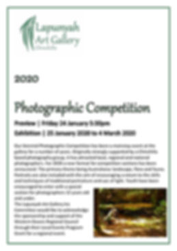 A4 Photographic Competition Poster 20191